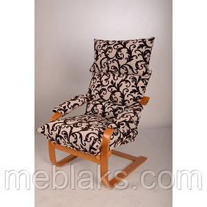 """Кресло-качалка """"Релакс с подлокотниками"""" в гостинную"""