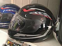 Детский Шлем F2 интеграл детский черный с красной полосой