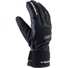 Гірськолижні рукавиці Viking Piemont чорні   розмір - 8