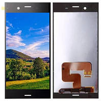 Дисплей (LCD) Sony G8341 Xperia XZ1   G8342с тачскрином, чёрный