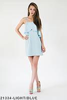 Жіноче плаття Подіум Sandy 21334-LIGHT/BLUE M Голубий