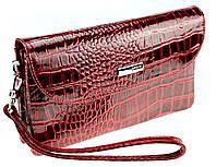 Женский клатч Karya 1121-08 кожаный красный