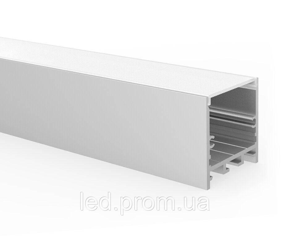 LED-профиль подвесной LP-SL098 с рассеивателем