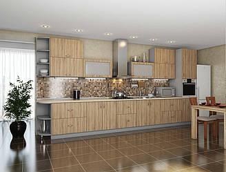 Кухня Модест Дуб сонома 2м