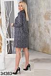 Женское свободное платье с блестящим напылением р.42-44,46-48, фото 2