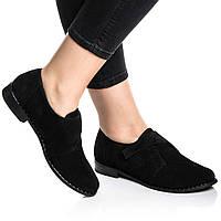 Туфли Rivadi 2245 36(24см) Черный велюр