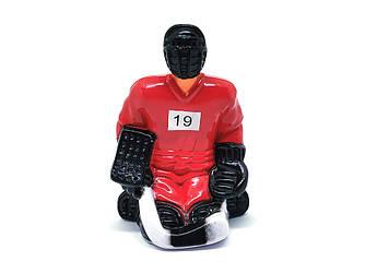 Хоккеист для настольного хоккея №19 красный