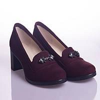 Туфли La Rose 2066 36(23,5см ) Бордовая замша