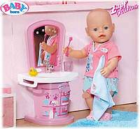 Оригинал. Интерактивный Умывальник для куклы Baby Born Zapf Creation 819241
