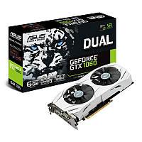 Видеокарта GF GTX 1060 6GB GDDR5 Dual Asus (DUAL-GTX1060-6G) Refurbished