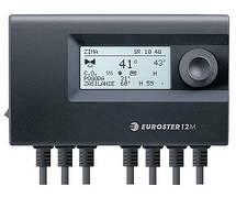Контролер Euroster 12M управляет 3-4-ход.клапаном
