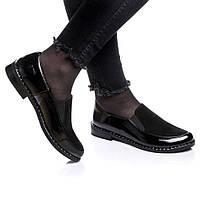 Туфли Rivadi 2127 39(25,6 см) Черный лак