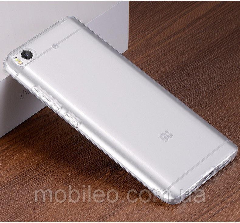 Чехол TPU Cristal для Xiaomi Mi5s  0,3мм ультратонкий прозрачный