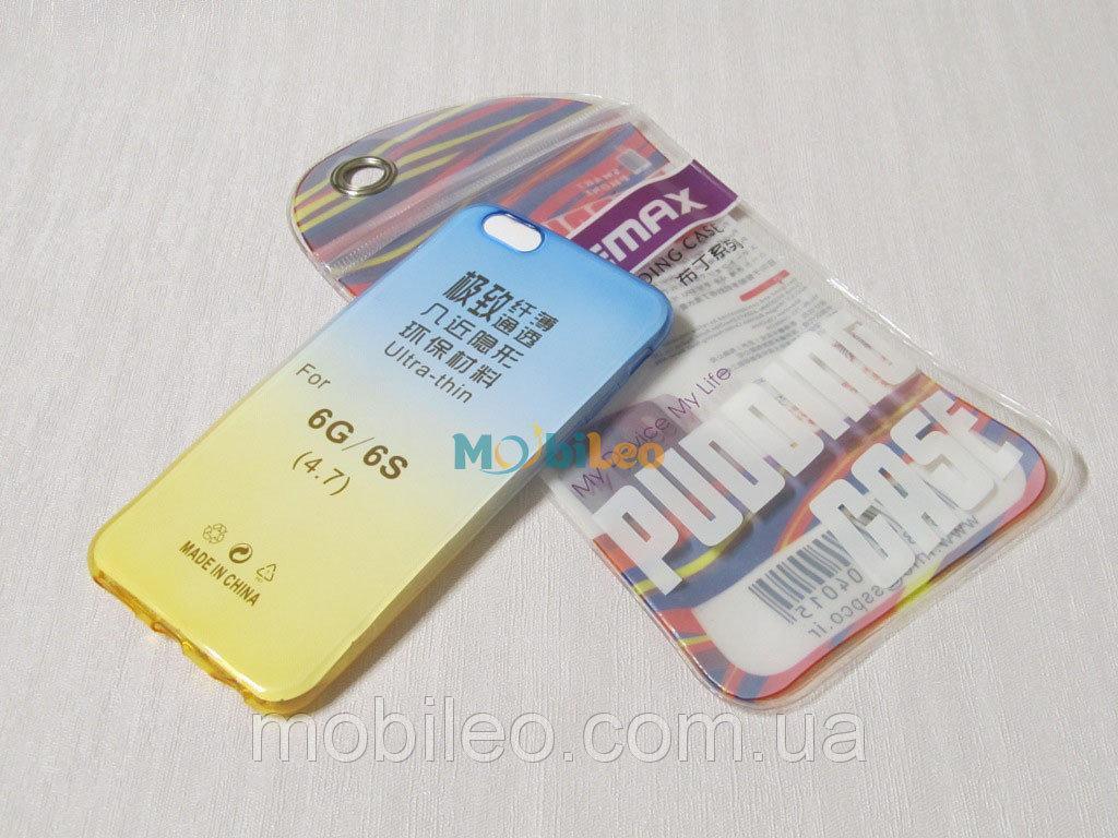 Чехол TPU Remax Ultra Thin Silicone case Apple iPhone 6 6s  UA Colour