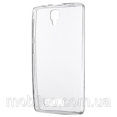 Чехол TPU Remax Ultra Thin Silicone case Lenovo A1000 прозрачный