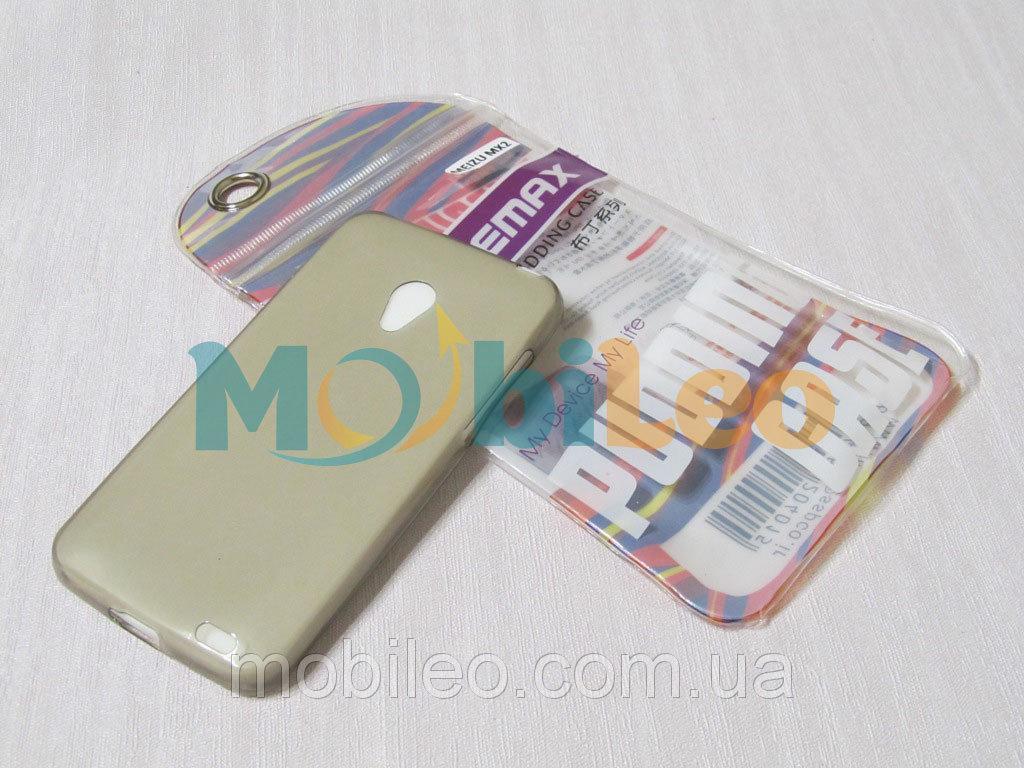 Чехол TPU Remax Ultra Thin Silicone case Meizu MX2 черный