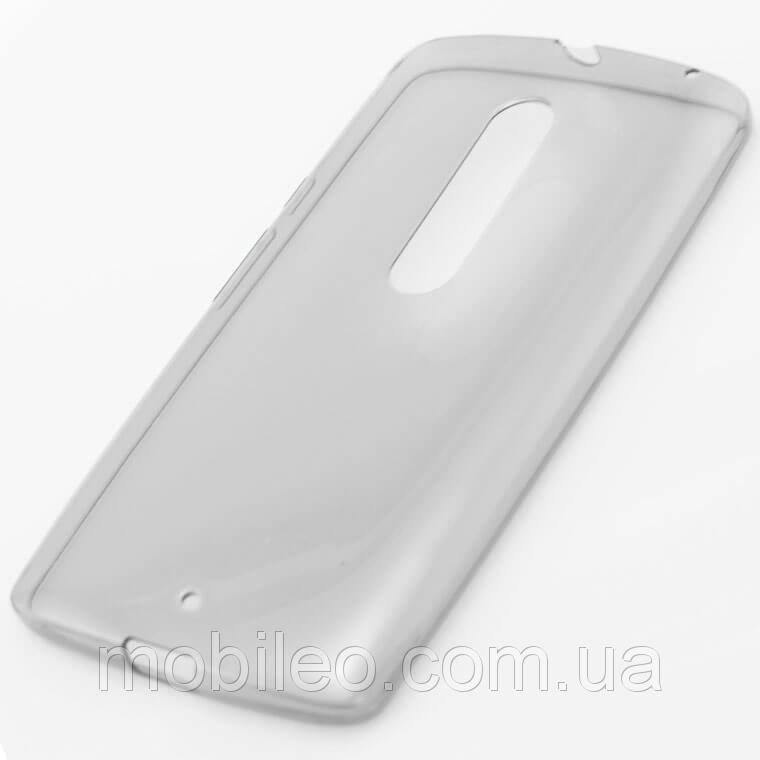 Чехол TPU Remax Ultra Thin Silicone case Motorola X Play черный