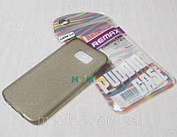 Чехол TPU Remax Ultra Thin Silicone case Samsung G930 Galaxy S7 черный, фото 1
