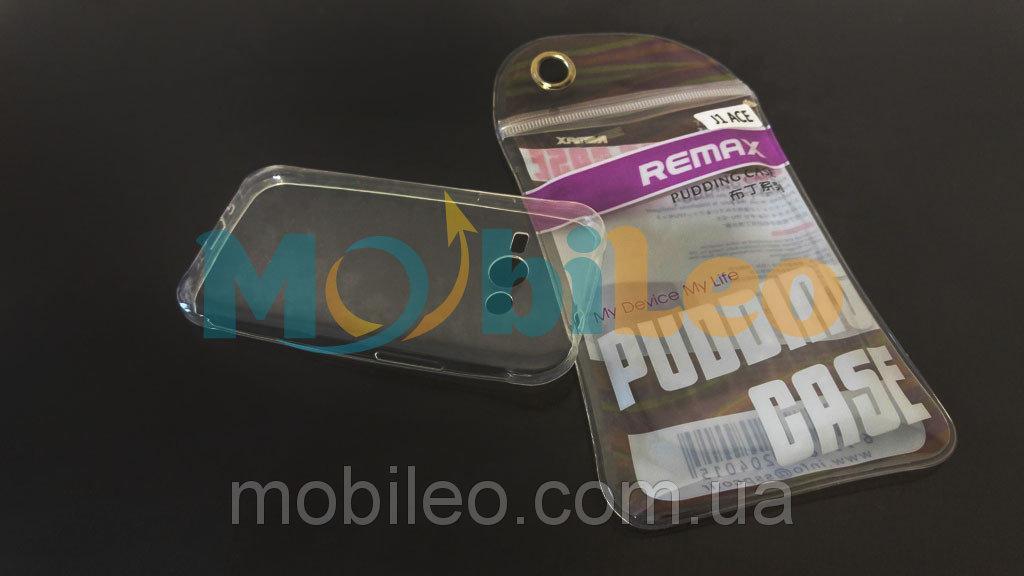 Чехол TPU Remax Ultra Thin Silicone case Samsung J110 Galaxy J1 Ace прозрачный