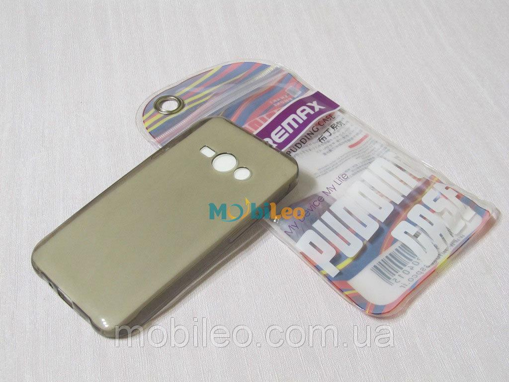 Чехол TPU Remax Ultra Thin Silicone case Samsung J110 Galaxy J1 Ace черный