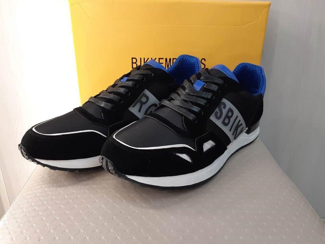 Мужские кроссовки Bikkembergs CK120 черные