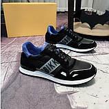 Мужские кроссовки Bikkembergs CK120 черные, фото 5