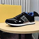Мужские кроссовки Bikkembergs CK120 черные, фото 4