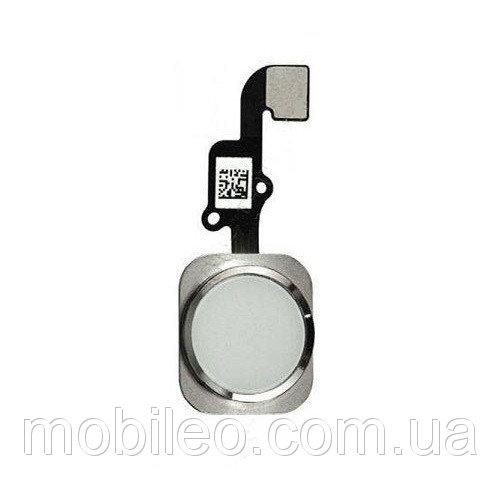 Шлейф для Apple iPhone 6 | 6 Plus с кнопкой меню (Home), белый