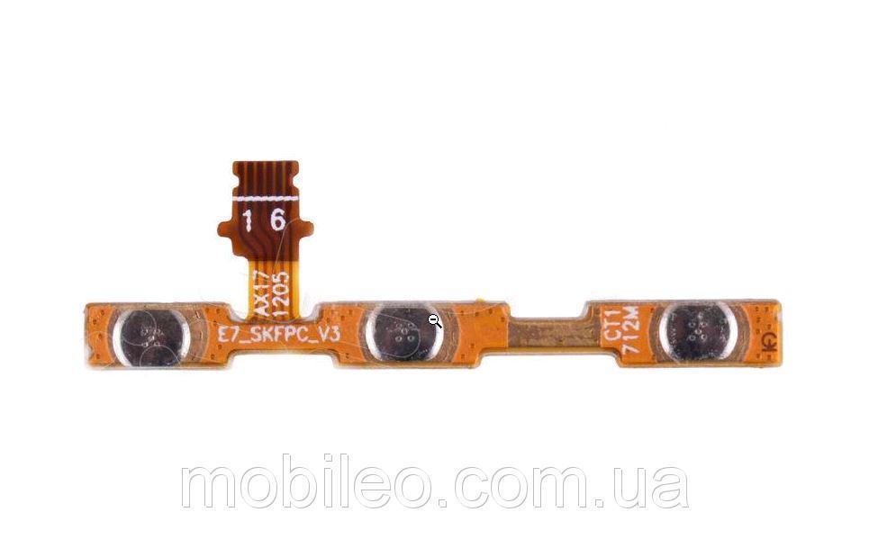 Шлейф для Xiaomi Redmi 5 Plus с кнопкой включения и кнопками регулировки громкости
