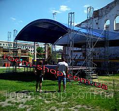 Изготовление мобильных сцен (подиумов, сценічні конструкції) размер 6х4, фото 2