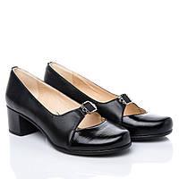 Туфли La Rose 2131 41(26,8см) Черная кожа лак