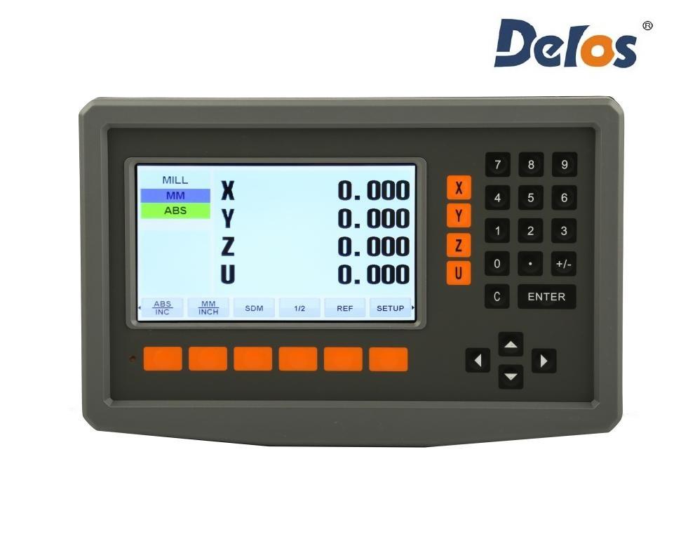 DS50P-4V четырехкоординатное устройство цифровой индикации