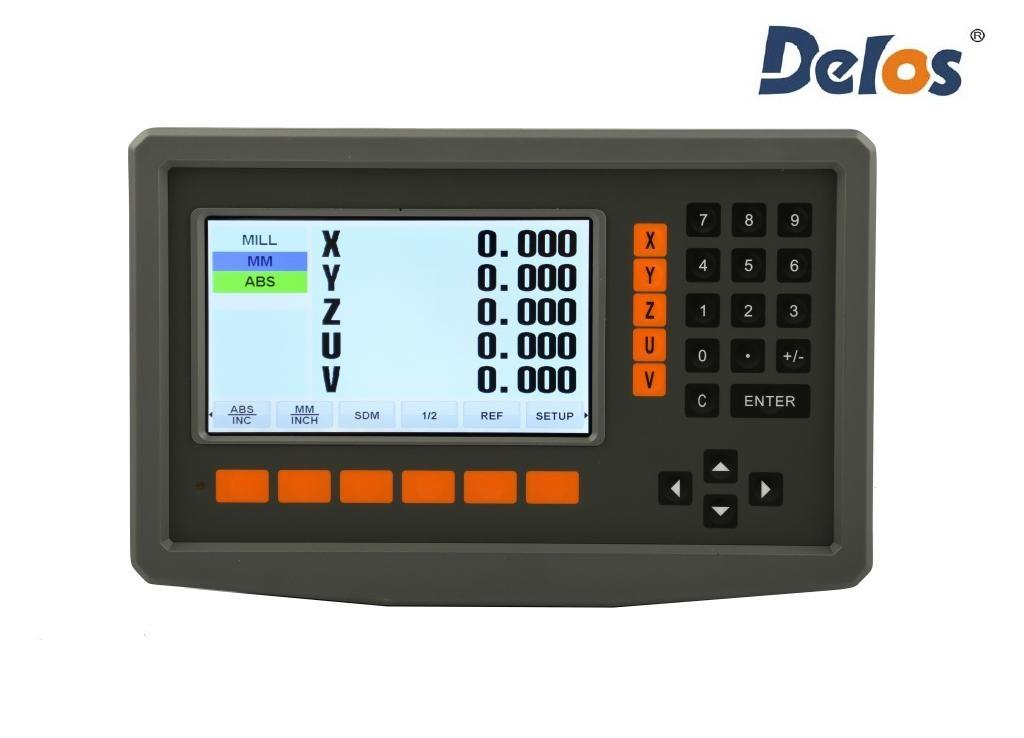 DS50P-5V пятикоординатное устройство цифровой индикации