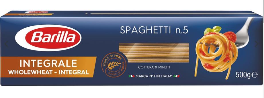 Макарони BARILLA integrale spaghetti 500гр, фото 2