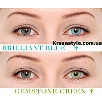Жемчужные цветные линзы для глаз