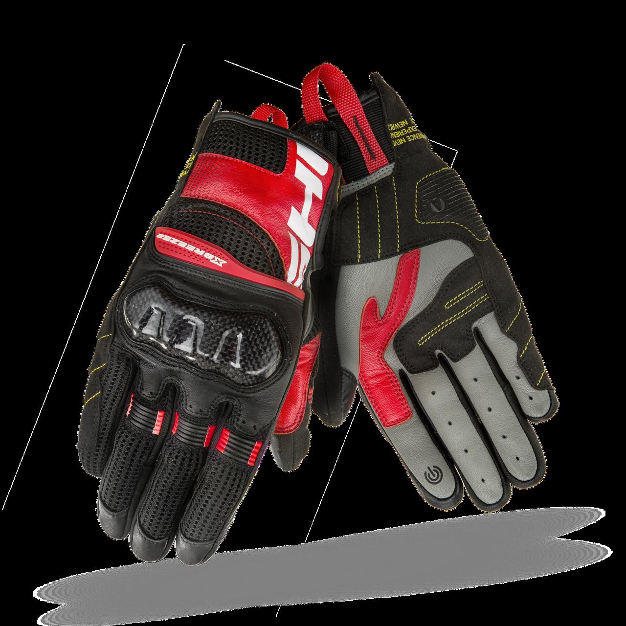 Мотоперчатки SHIMA X-BREEZE 2 red