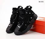 Мужские кроссовки Nike Air Barrage Mid (черные) KS 1401, фото 5