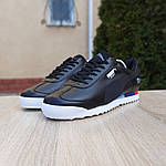 Чоловічі кросівки Puma Roma BMW (чорні) 10034, фото 5