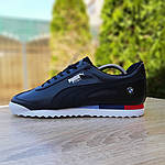 Мужские кроссовки Puma Roma BMW (черные) 10034, фото 8