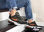 Мужские кроссовки Nike Air Max 270 React (темно-зеленые) 9140, фото 2