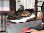 Чоловічі кросівки Nike Air Max 270 React (темно-зелені) 9140, фото 5