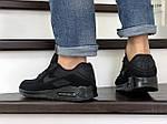 Мужские кроссовки Nike Air Max 90 (черные) KS 1399, фото 4