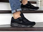 Мужские кроссовки Nike Air Max 90 (черные) KS 1399, фото 5