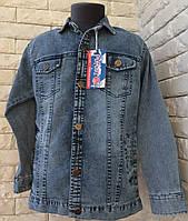 Джинсовая рубашка на мальчика 8-11 лет, фото 1