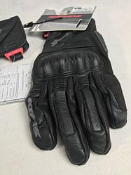 Кожаные мотоперчатки Ranger LT Black/Grey A188 итальянской маркиSPIDI  размер L