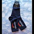 Носки с принтом высокие синие 36-40 размер, фото 4