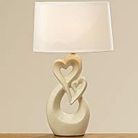 Лампа Calvina кремовая керамика h41см 1002338