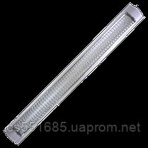 2x18W_Т8_G13 PLF 30. Светильник люминесцентный металлизированной решеткой MAGNUM (Магнум)