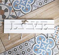 Ключница LOVE на 4 крючка 178919