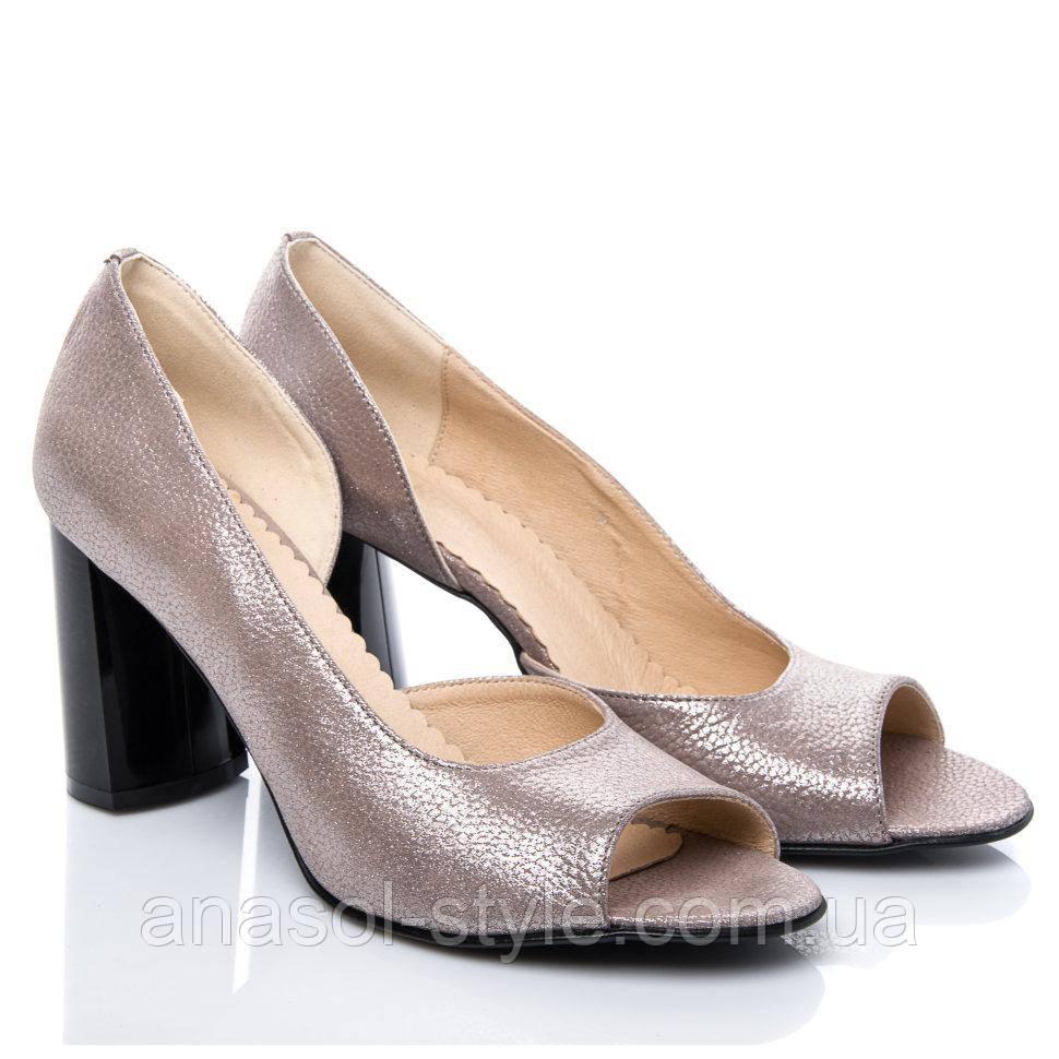 Туфли La Rose 2113 37(24,6см) Капучино блеск